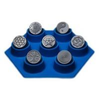 Sacred mal 7 symbolen diameter 25mm