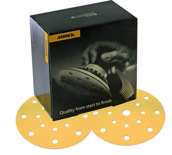 Mirka Gold 150mm schuurpapier
