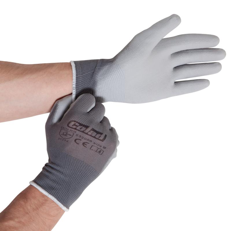 Nylon handschoenen met PU coating