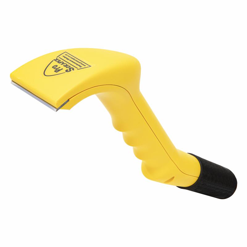Gelplane vacuum schraper