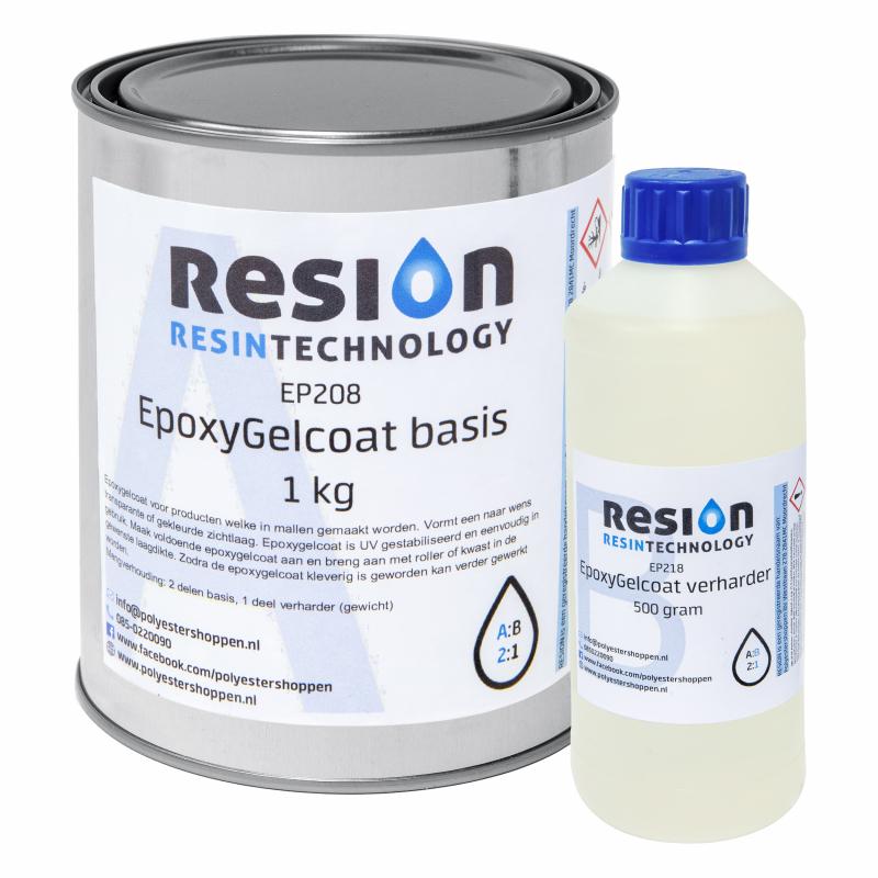 RESION Epoxy Gelcoat basis en verharder