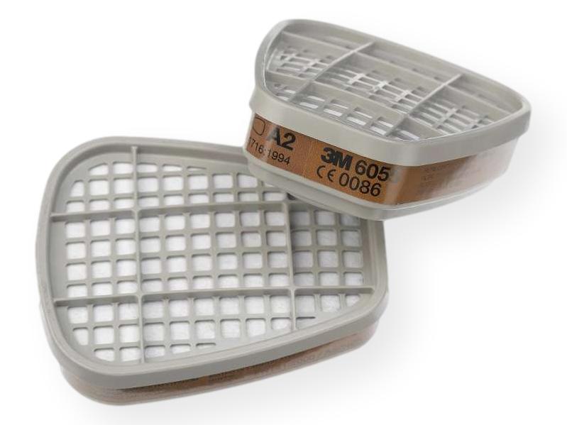 3M 6055 filters voor 3M 6000 serie halfgelaatmasker