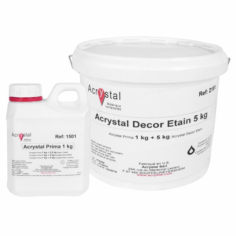 Acrystal Decor Etain tin kunsttin koud gegoten tin