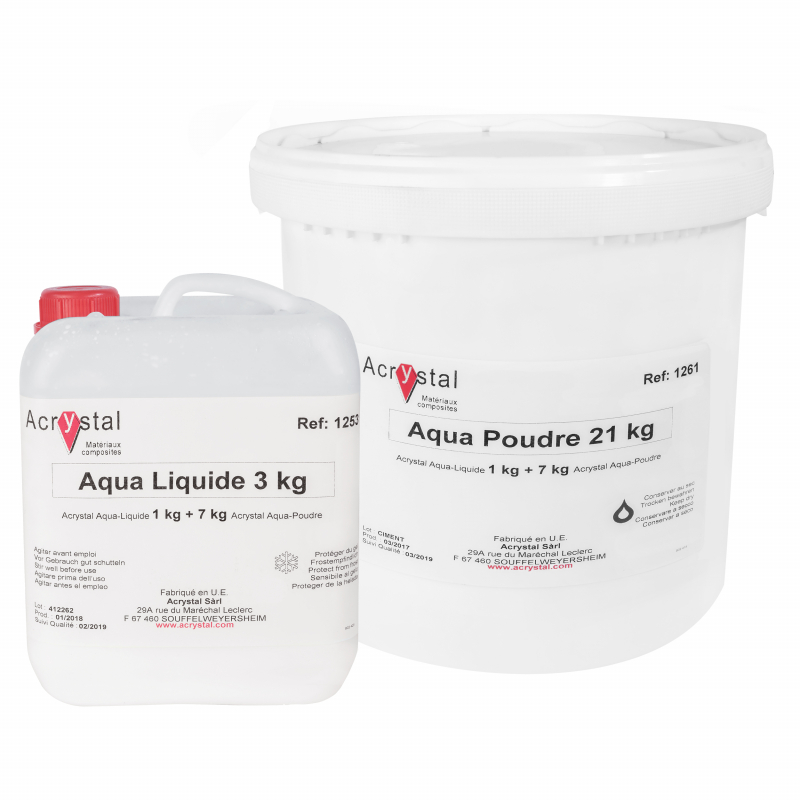 Acrystal Aqua waterbestendig lamineerkeramiek voor aquarium achtergrond