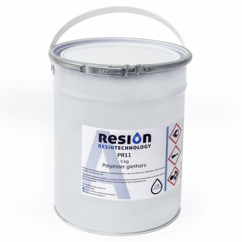 Polyester giethars transparant 5KG