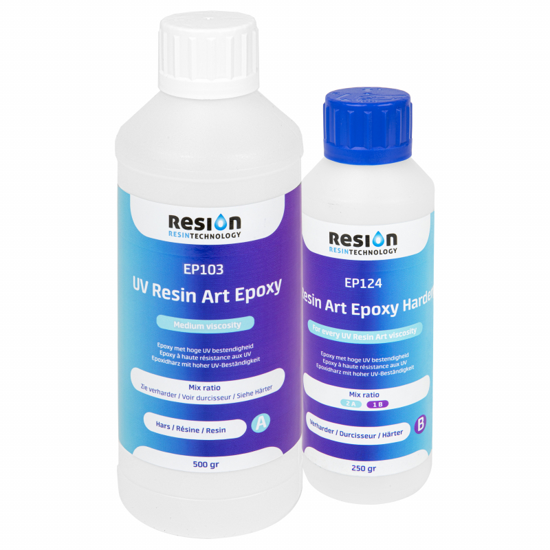 RESION UV Resin Art Epoxy MV 0,75 kg