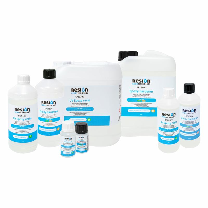 RESION UV epoxy resin alle soorten