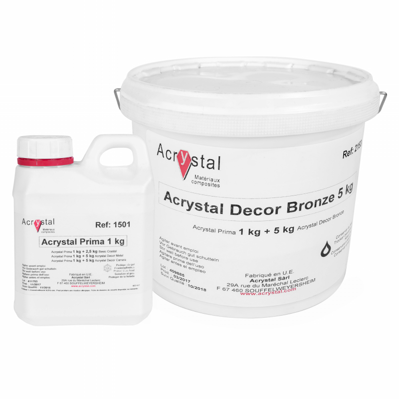 Acrystal Decor Bronze brons lamineerkeramiek