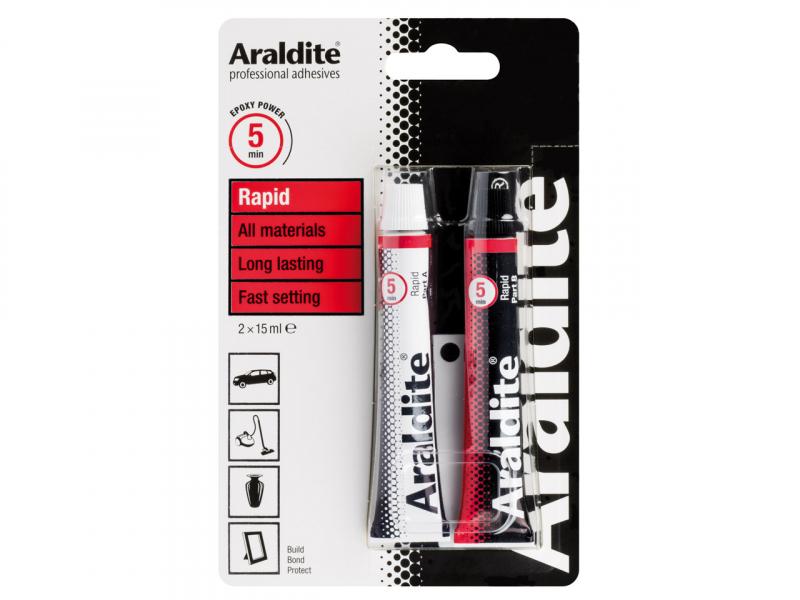 Araldite rapid epoxylijm (verpakking)