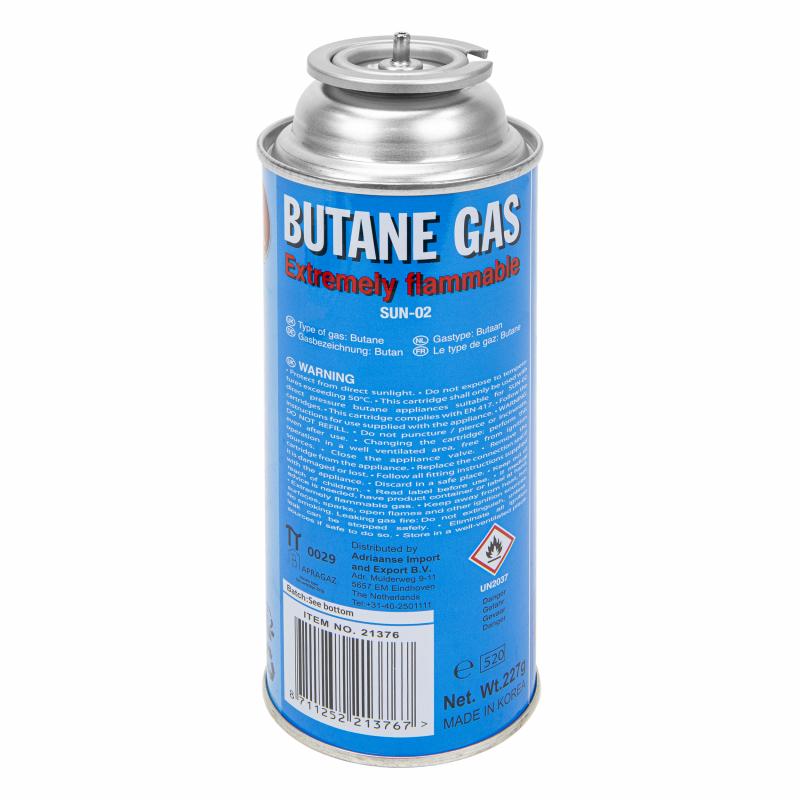 Gasbus voor gasbranders