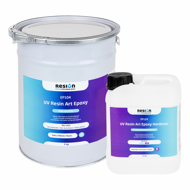 RESION UV Resin Art Epoxy HV 7,5 kg