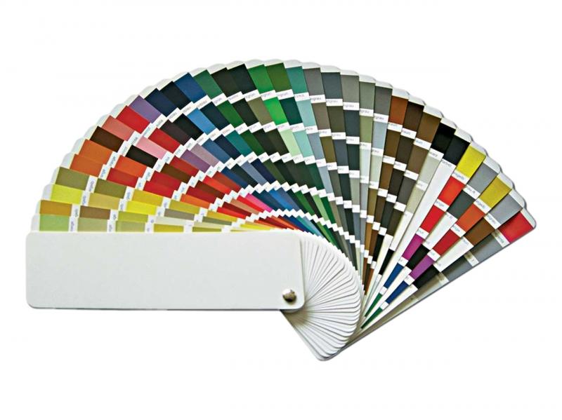 RAL kleurenwaaier
