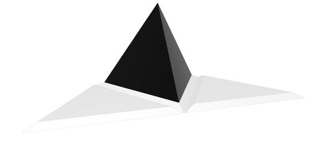 HDPE mal tetraeder