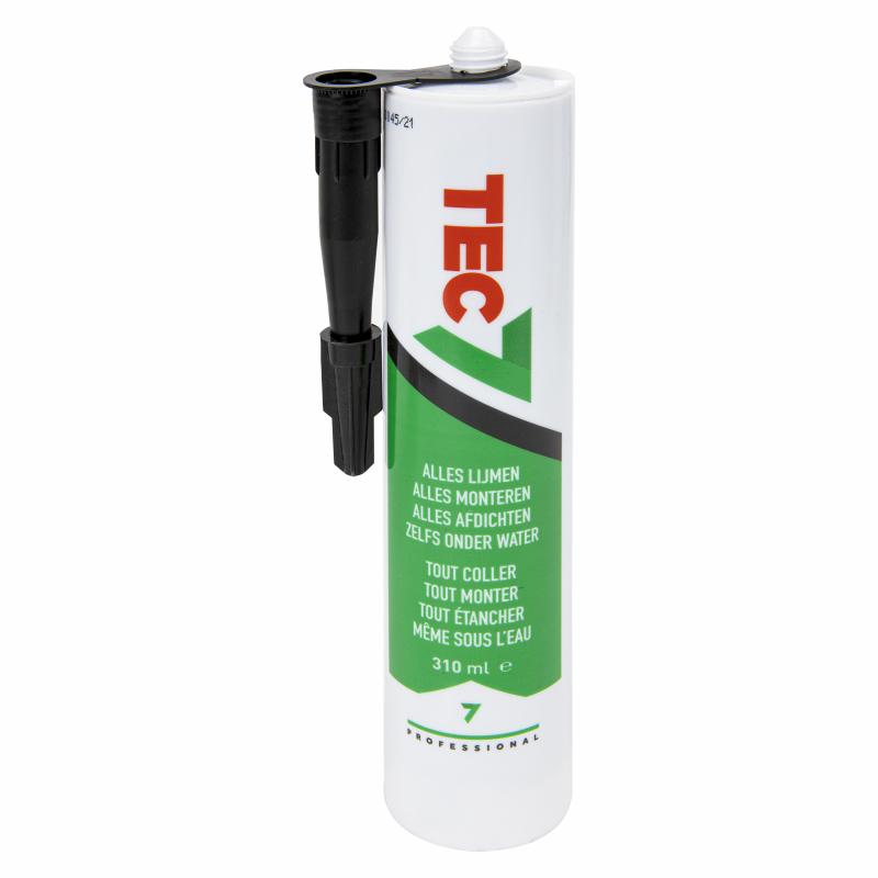 Tec7 lijmkit (zwart)