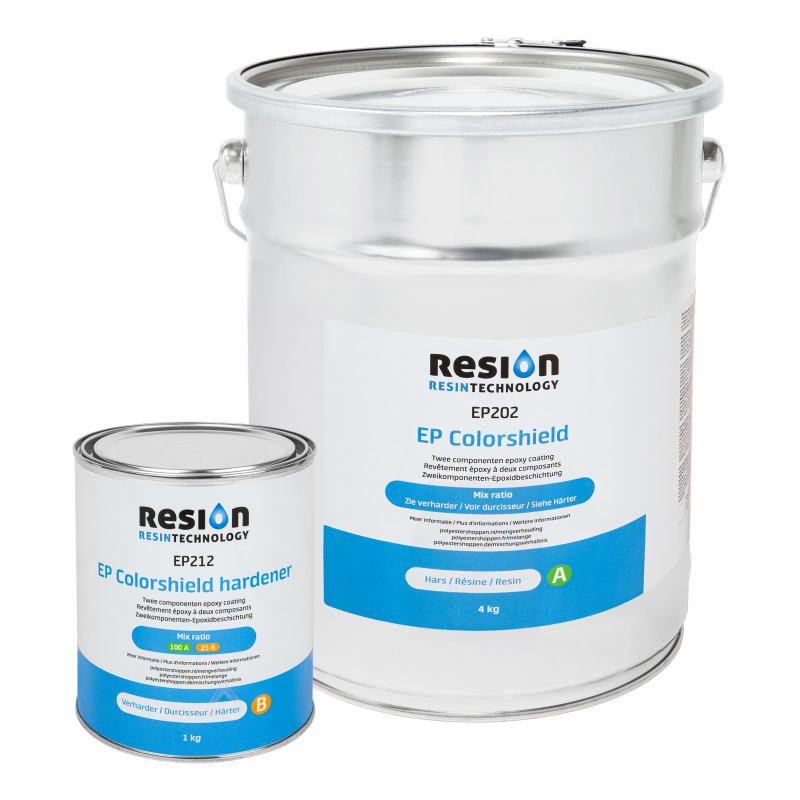 RESION EP Colorshield wandcoating 5KG set