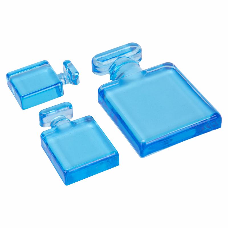 Parfumflesje uit siliconen mal