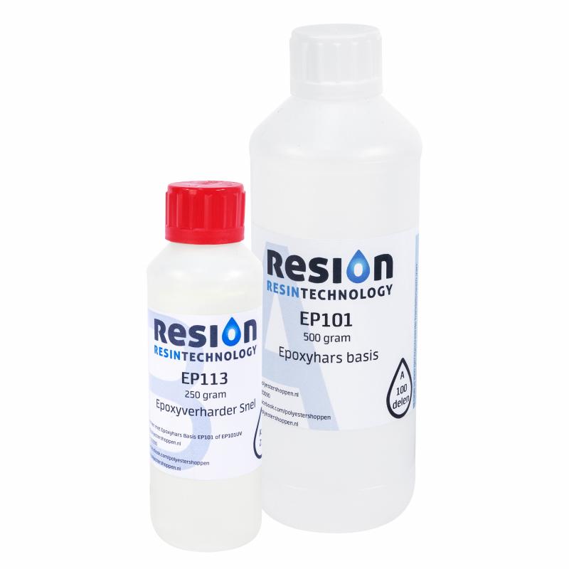 RESION universele epoxy met snelle verharder