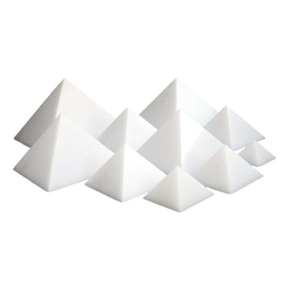 Cheops piramide orgonite mal voor epoxy