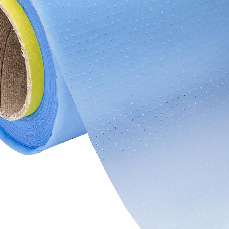 Close-up Gaatjesfolie voor vacuüm (Wet Bagging)