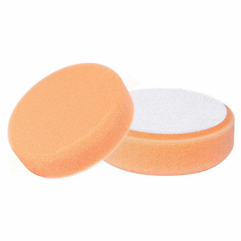 Oranje polijst spons 77mm voor middelgrof polijsten