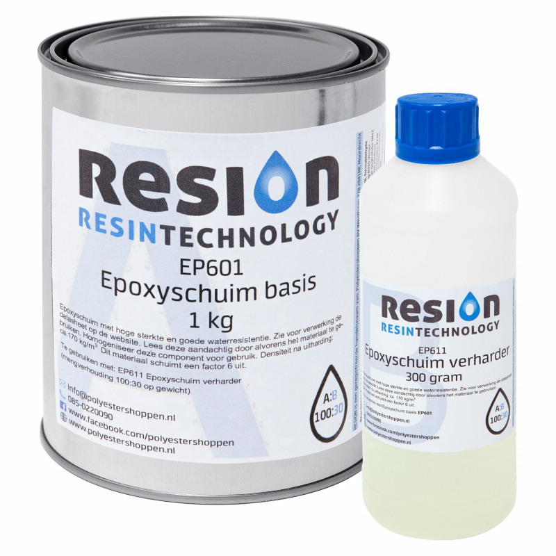 RESION Epoxyschuim basis en verharder
