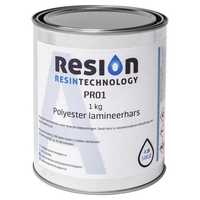 Polyester lamineerhars 1kg