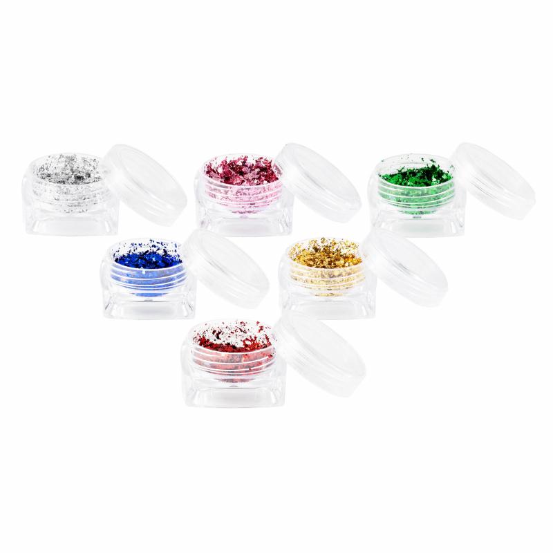 Resion FlateTint goud, rood, roze, blauw, groen, zilver kleurvlokken