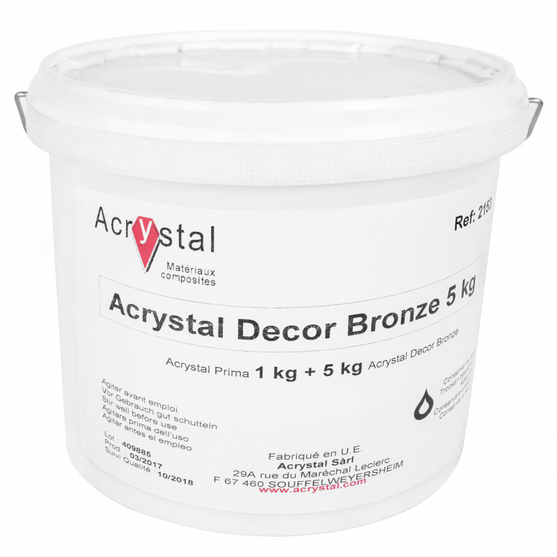 Acrystal Decor Bronze poeder