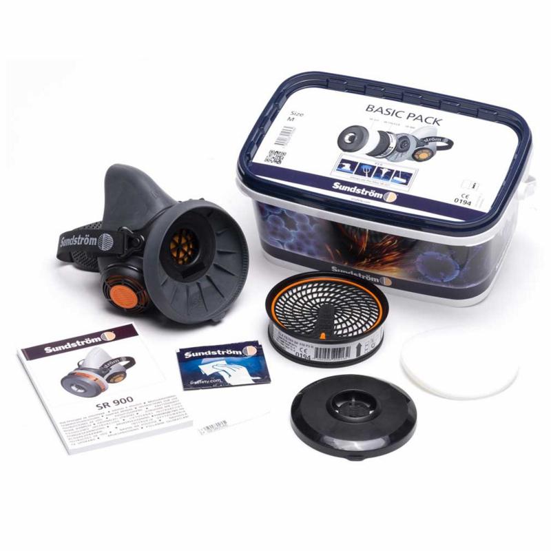 Sundström Basic Pack (SR-900 halfgelaatsmasker)