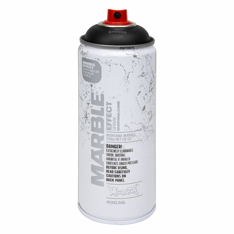 Montana Marmer Spray - Zwart