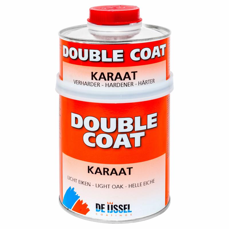 De IJssel Double Coat DD lak Karaat mahonie eiken teak