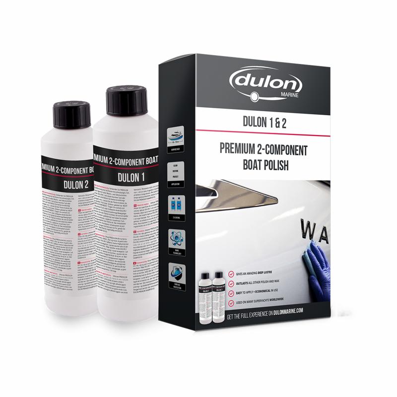 Dulon 1&2 Polish & Wax set 0,5 liter
