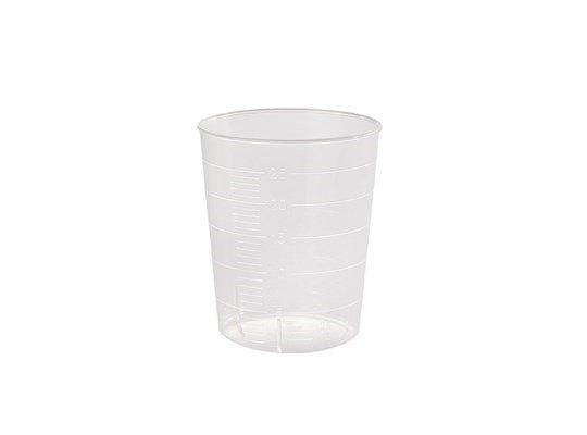 Plastic cupje. Medicijnbeker