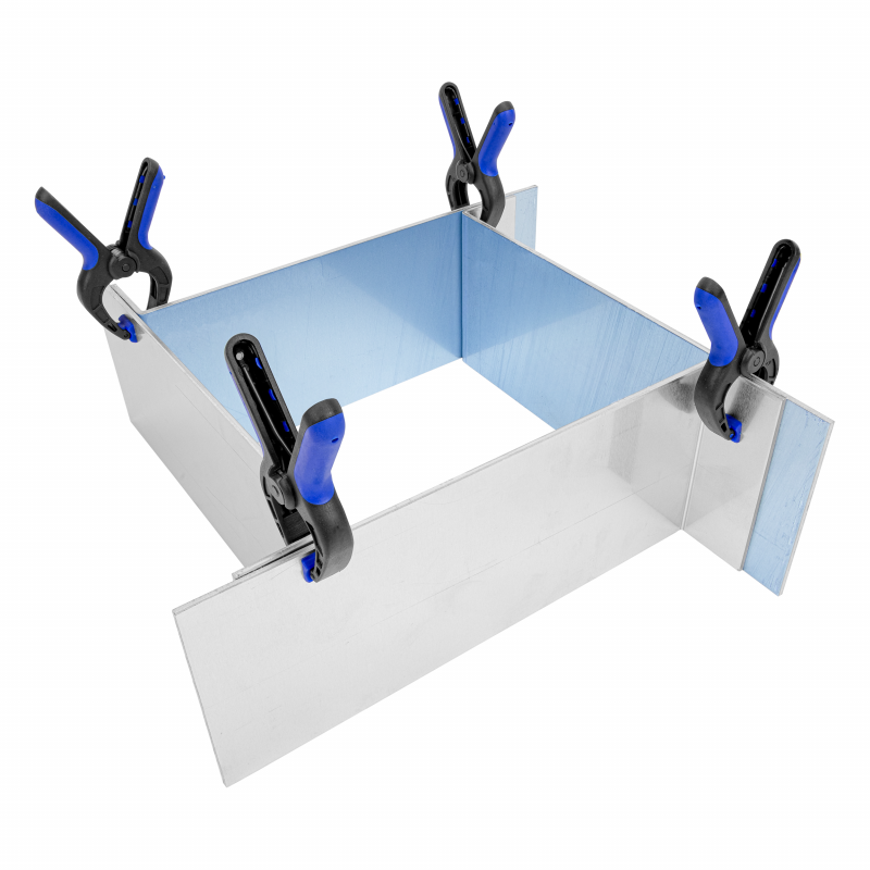 Bekisting voor siliconen mallen groot