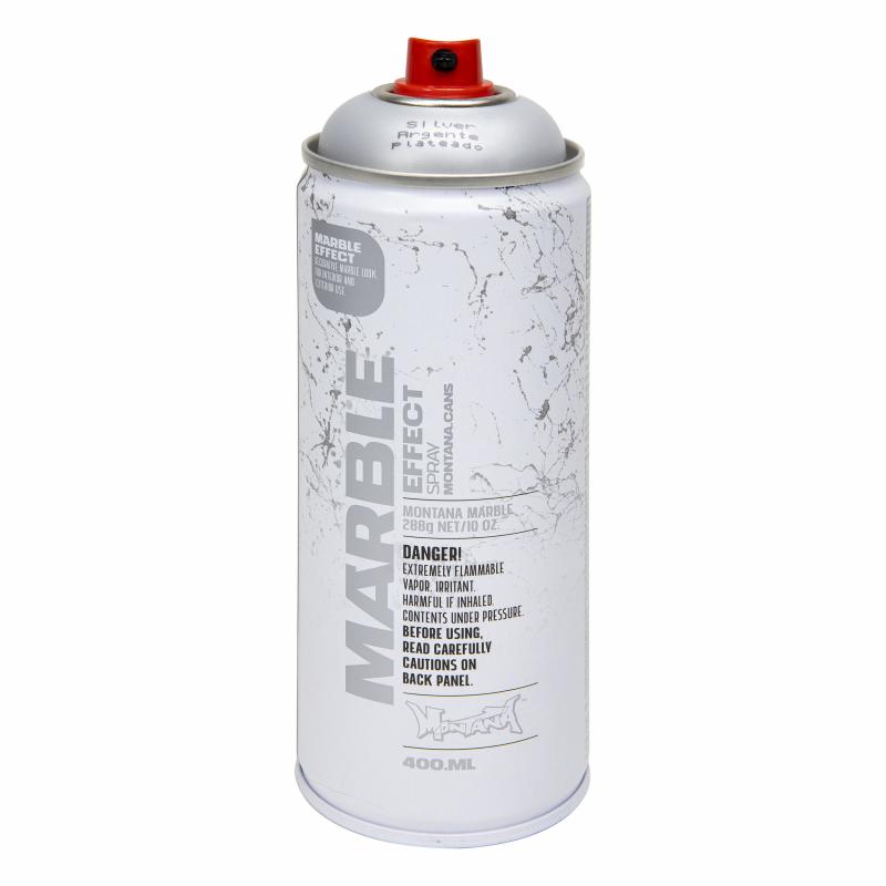 Montana Marmer Spray - Zilver