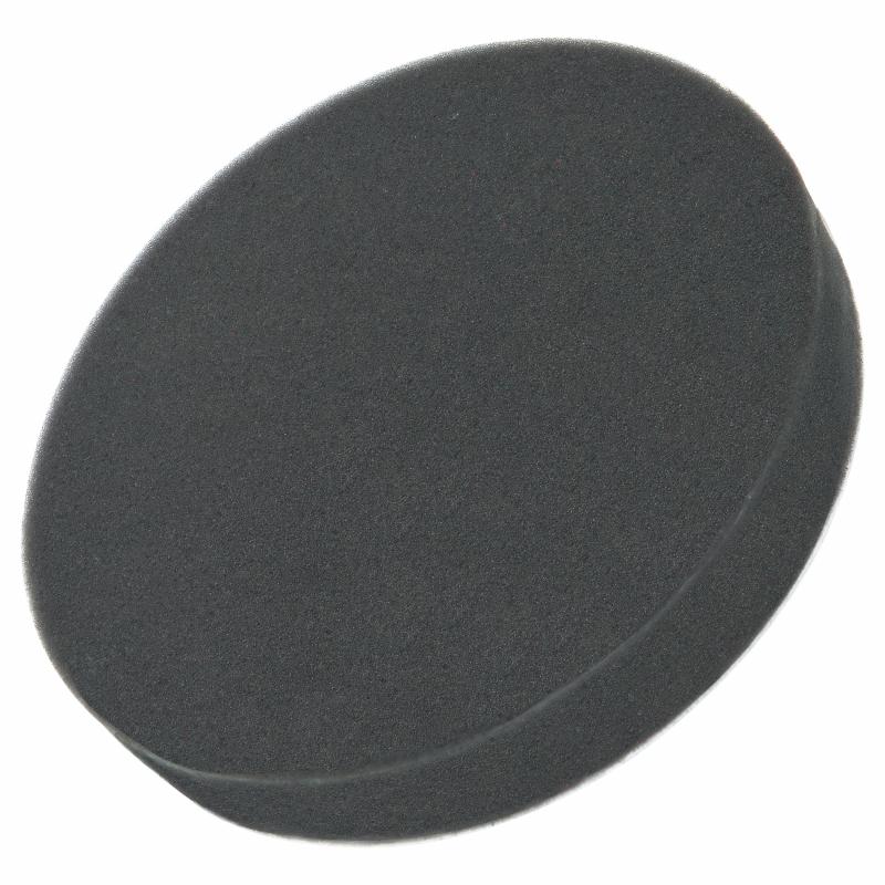 Polijstspons 150mm (zwart)