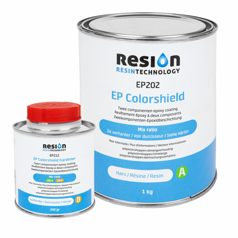 RESION EP Colorshield wandcoating 1,25KG set