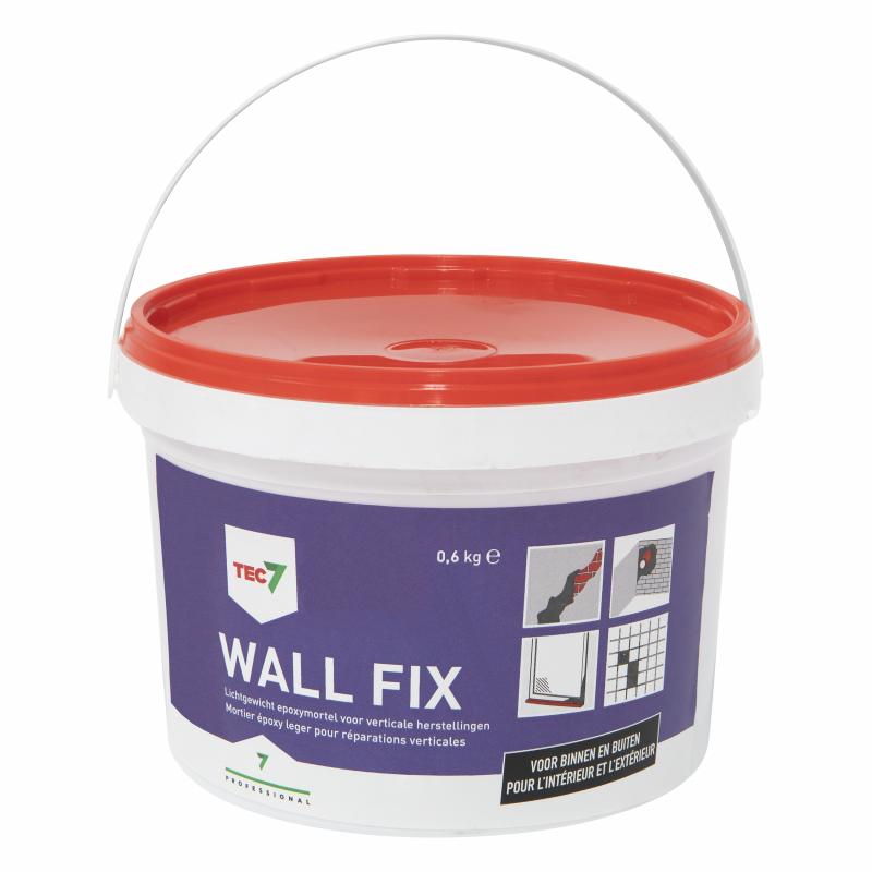Tec7 Wall Fix epoxy mortel (0,6kg)