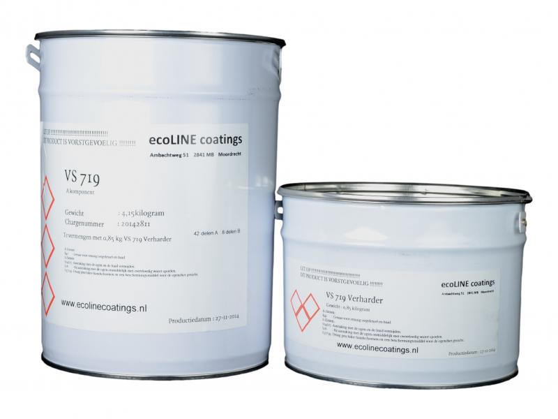 Marmoleum Vloer Verven : Vloerprimer epoxycoating over linoleum of marmoleum vloer