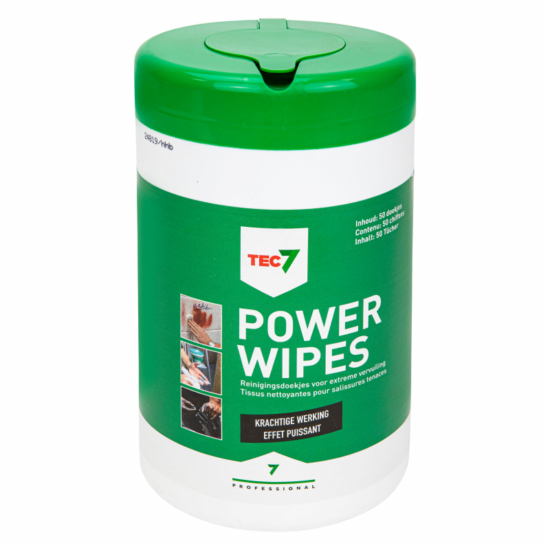 Tec7 Power Wipes