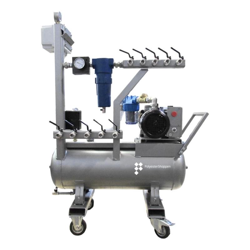 Vacuumsysteem industrieel